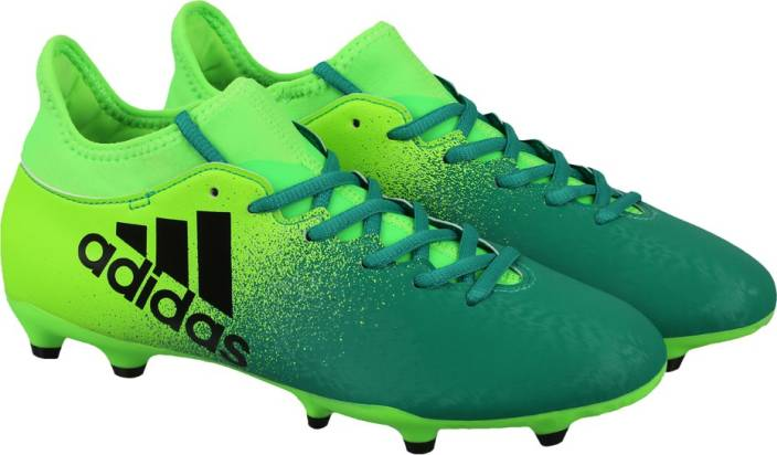 Adidas X 164 FXG Football Shoes  Buy SGREENCBLACKCORGRN Color Adidas X 164 FXG Football Shoes Online at Best Price  Shop Online for Footwears in India  STlLcXPR