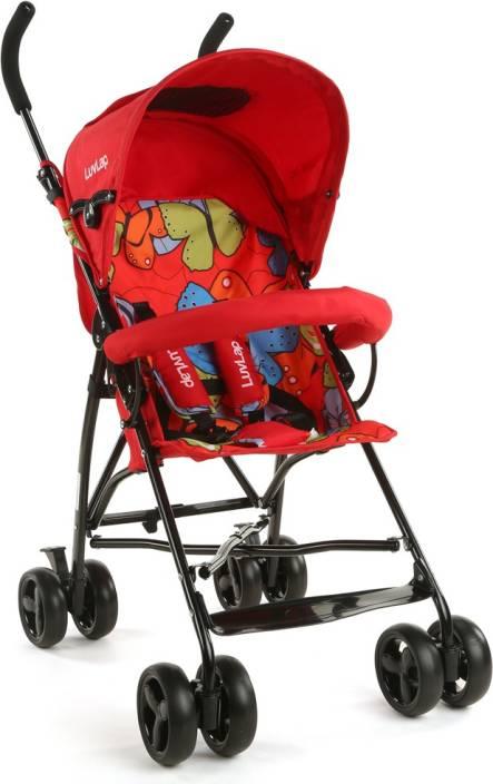 LuvLap Tutti Frutti Baby Buggy - Red