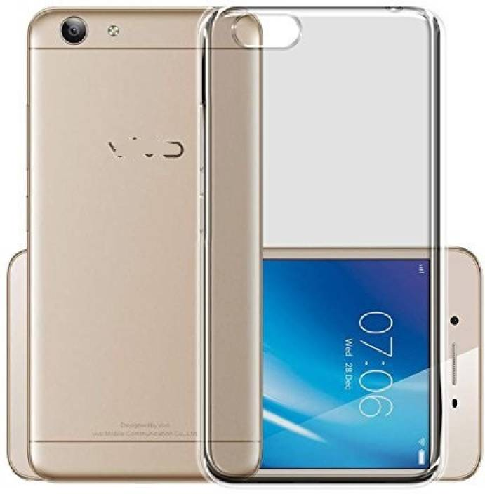official photos ddd49 78b1e Ifra Back Cover for Transparent Soft Silicon Back Cover For-Vivo 1606