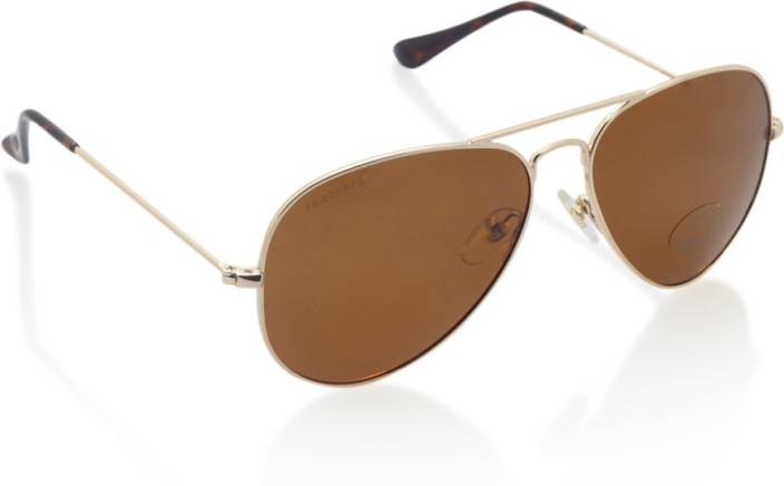 67e0bd722ee8 Buy Fastrack Aviator Sunglasses Brown For Men Online @ Best Prices ...