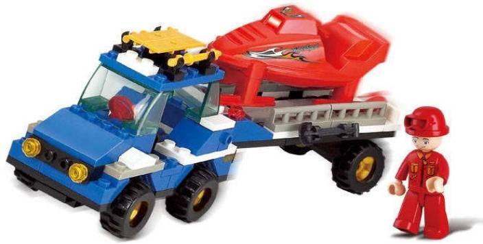 Sluban Sluban Lego Als Skating Rink M38-B0158