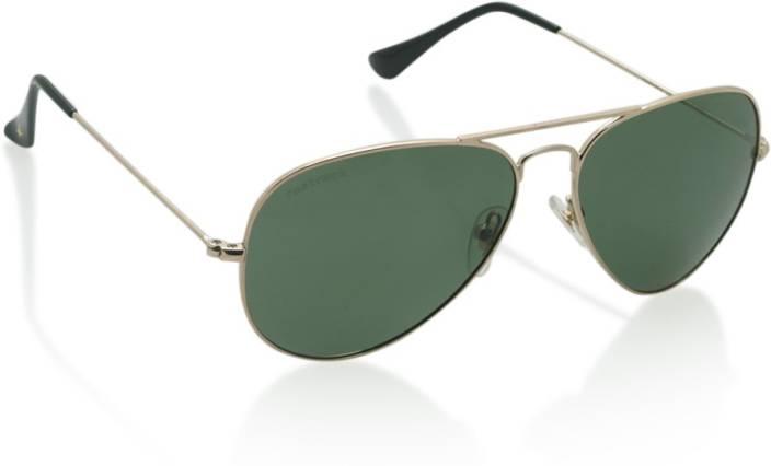 f52ada2e0c7 Buy Fastrack Aviator Sunglasses Green For Men Online   Best Prices ...