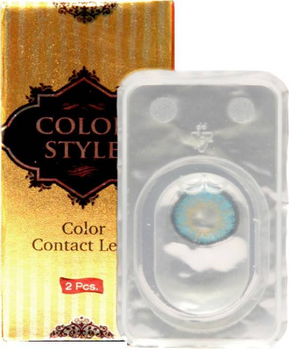 dfd9c7d580a COLOR STYLE Without power lens Monthly Contact Lens Price in India ...