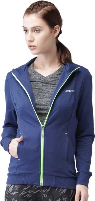 2GO Full Sleeve Solid Women's Jacket