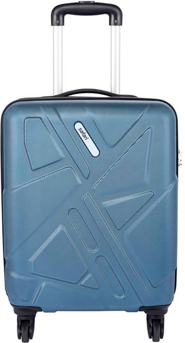 1230ec9356 Safari Traffik Antiscratch Cabin Luggage - 21 inch Teal - Price in ...