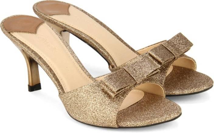 Catwalk Women Golden Heels