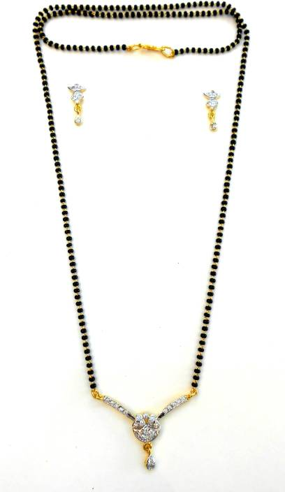DECENT CREATIONS Brass, Alloy Mangalsutra