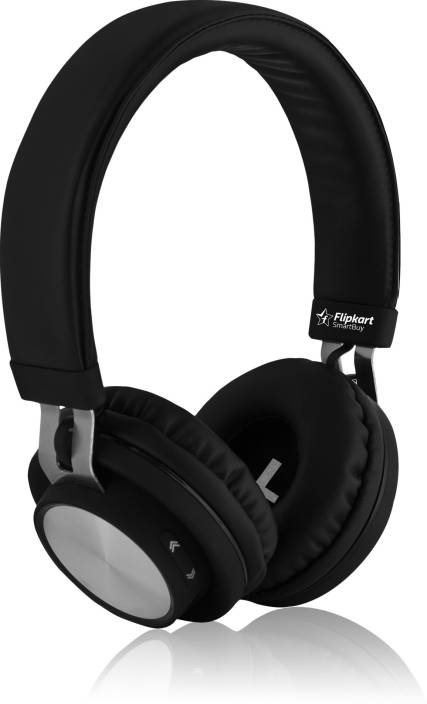e2cd1d5c72f Flipkart SmartBuy Rich Bass Wireless Bluetooth Headset With Mic (Black, Over  the Ear)