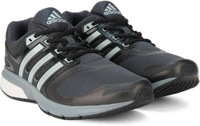 14a689c64cb6e ADIDAS QUESTAR TF M Running Shoes For Men - Buy CBLACK SILVMT DKGREY ...