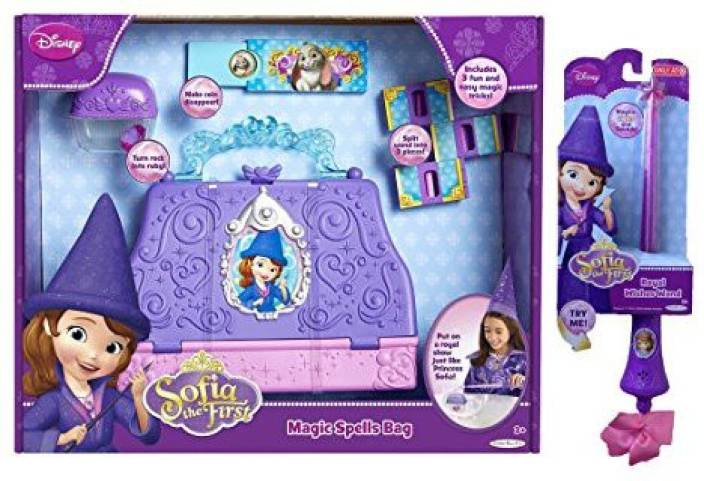 Disney Sofia the First Royal Wishes Wand and Magic Spell Bag - Sofia