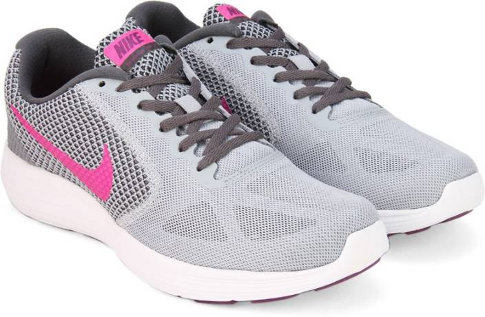 d836520ddca6 Nike WMNS NIKE REVOLUTION 3 Running Shoes For Women - Buy WOLF GREY ...