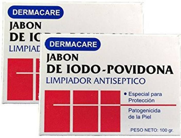 Dermacare Povidone Iodine Bar Soap, Package Of 2 - Price in