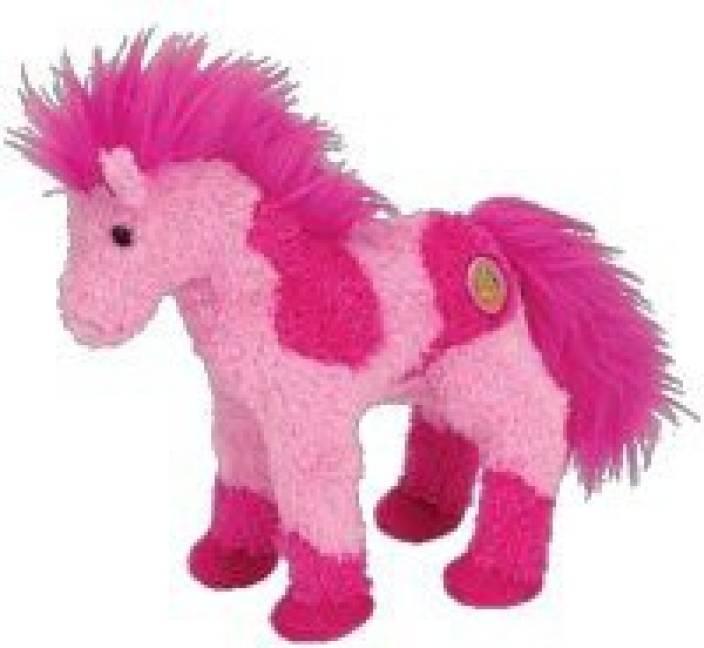 ty Beanie Baby - Canters The Horse (Bbom April 2006) - 2.1 inch (Pink) 456afe672a9