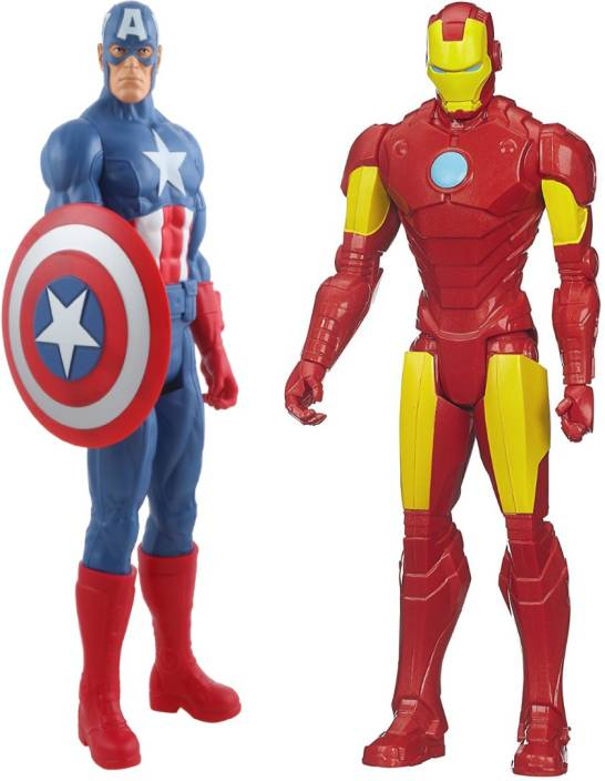 Emob 11 Inch Big Size Ultimate Super Power Classic Titan Action Heroes  Combo-3