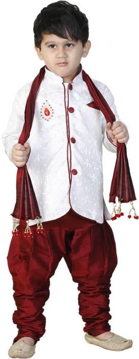 FTC Bazar Boys Kurta, Pyjama & Dupatta Set