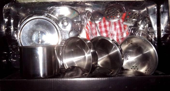 Jaibros Stainless Steel Kitchen Set Series For Girls Price In India