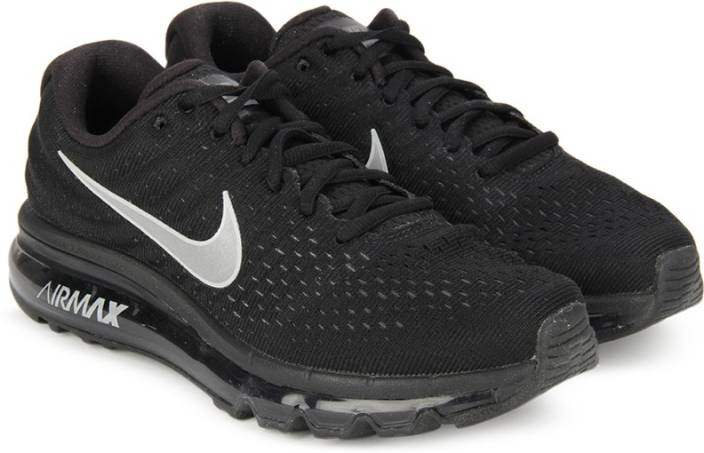 Nike WMNS NIKE AIR MAX 2017 Running Shoes For Women - Buy BLACK ... 0e9932378e