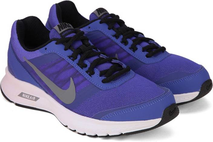 new arrivals 3bf86 5bdaa Nike WMNS AIR RELENTLESS 5 MSL Running Shoes For Women (Purple, Grey, Black)
