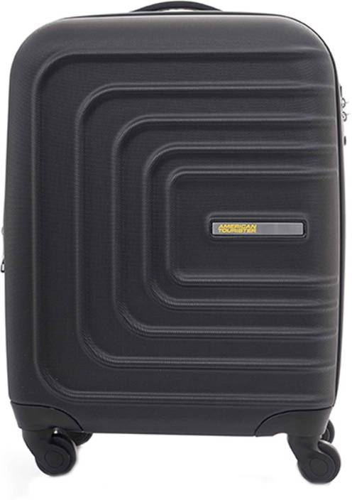 39fedaa75e4b American Tourister Sunset Square Cabin Luggage - 22 inch BLACK ...