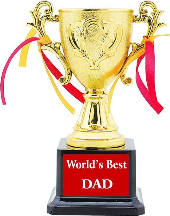 Aark India Best Dad Trophy/Award/Gift By Aark India(PC 00233) By Aark India  Trophy