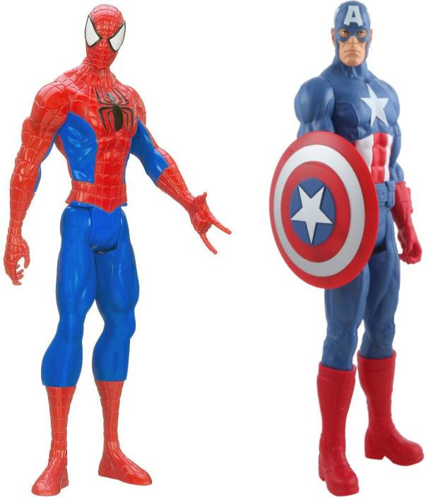 Emob 11 Inch Big Size Ultimate Super Power Classic Titan Action Heroes  Combo-2