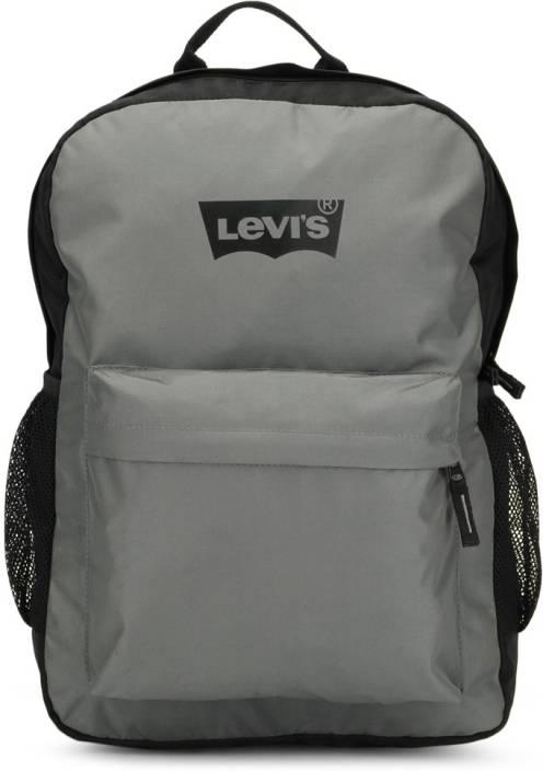 Levi's Two tone back pack 2.8 L Backpack (Black, Grey)