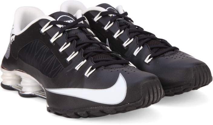 online store 7aa3d d09e9 Nike SHOX SUPERFLY R4 Sneakers For Men (Black, White)