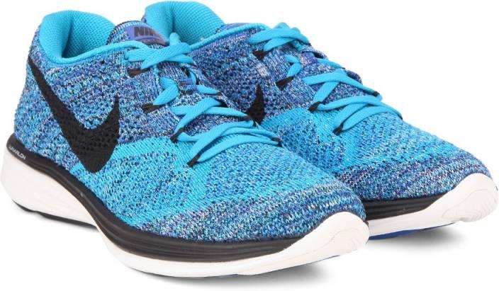 brand new d6dc4 b5ed6 Nike FLYKNIT LUNAR3 Running Shoes For Men