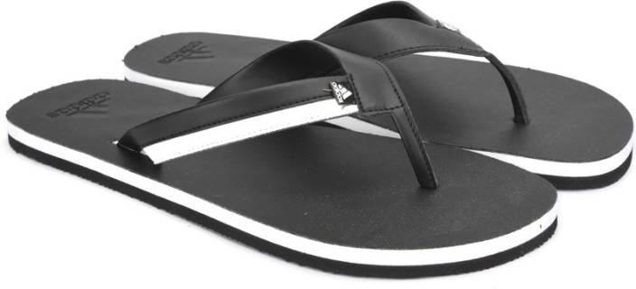 b7fbc661a ADIDAS BRIZO 3.0 Slippers - Buy BLACK WHITE Color ADIDAS BRIZO 3.0 Slippers  Online at Best Price - Shop Online for Footwears in India