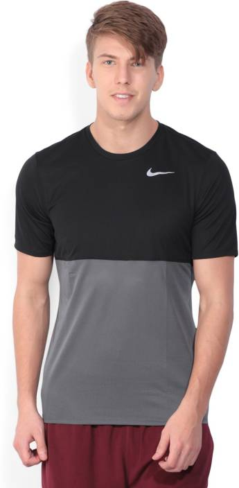 94910b2a Nike Self Design Men's Round Neck Black T-Shirt - Buy DARK GREY/BLACK/BLACK  Nike Self Design Men's Round Neck Black T-Shirt Online at Best Prices in  India ...