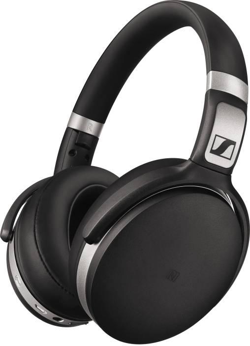 e4ec2fb7d8a Sennheiser HD 4.50 BTNC Bluetooth Headset with Mic (Black, Over the Ear)