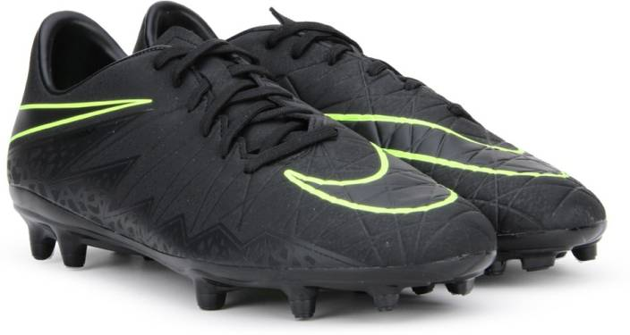 bdc330d28d6c Nike HYPERVENOM PHELON II FG Football Shoes For Men - Buy BLACK ...
