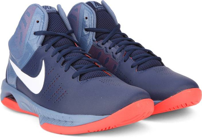 43ed9982290c Nike AIR VISI PRO VI Basketball Shoes For Men - Buy Navy Blue ...