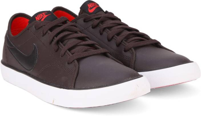 Nike Primo Court Leather Sneakers For Men Buy Vlvt Brwn Blk