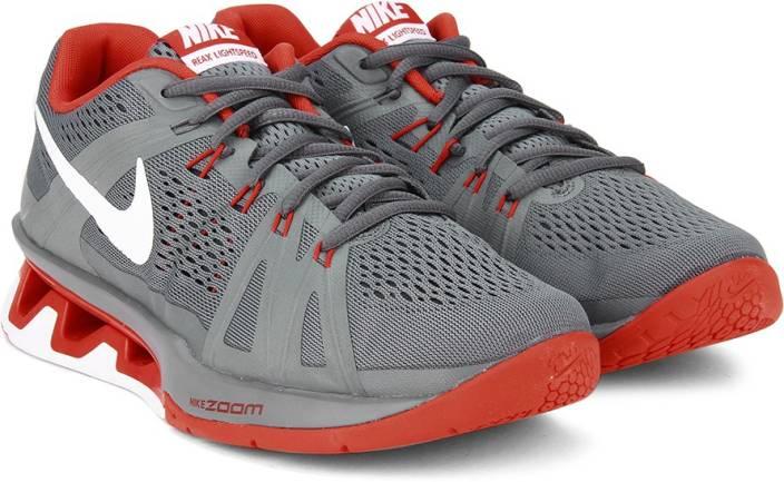 f2f2c1ef8eb1 Nike REAX LIGHTSPEED Training Shoes For Men - Buy dark grey white ...