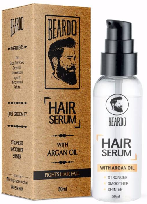 Beardo HAIR SERUM With Argan Oil
