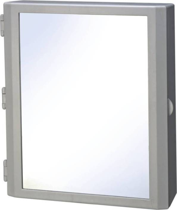 Bedi Royal Cipla Plast Flora Bathroom Mirror Cabinet Plastic Wall Shelf Plastic Wall Shelf