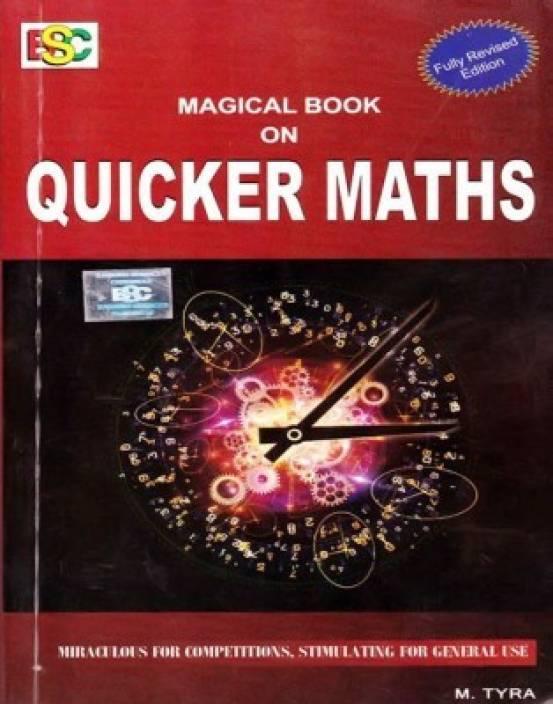 Magical Book On Quicker Maths