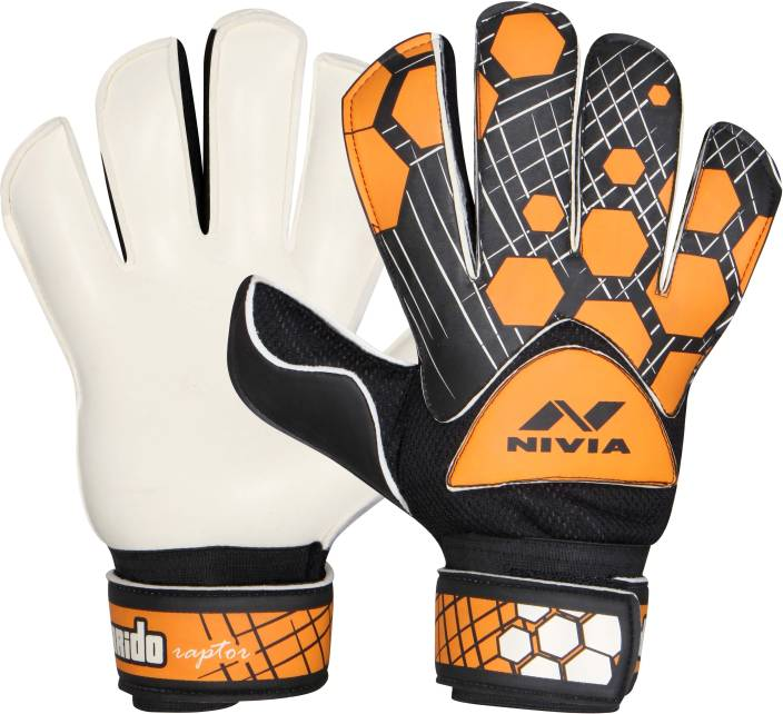 online retailer 86d38 7ac85 Nivia Raptor Torrido Goalkeeping Gloves (S, Black, Orange) - Buy Nivia  Raptor Torrido Goalkeeping Gloves (S, Black, Orange) Online at Best Prices  in India ...