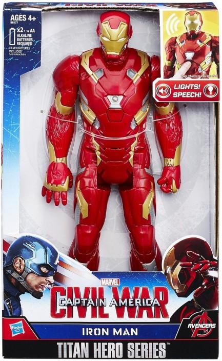 "Marvel Captain America Civil War Titan Hero Series 12/"" Electronic Figures Set"