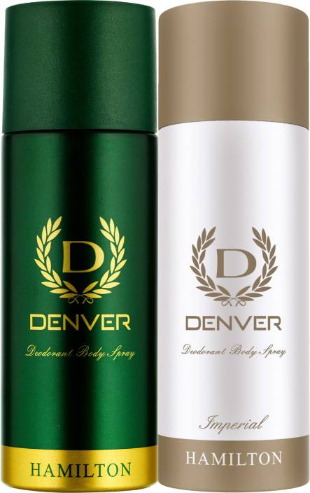 Denver Hamilton and Imperial Deo Combo (Pack of 2) Deodorant Spray  -  For Men