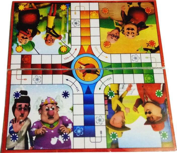 Attrix Motu Patlu Board Game - Motu Patlu   Buy Motu patlu