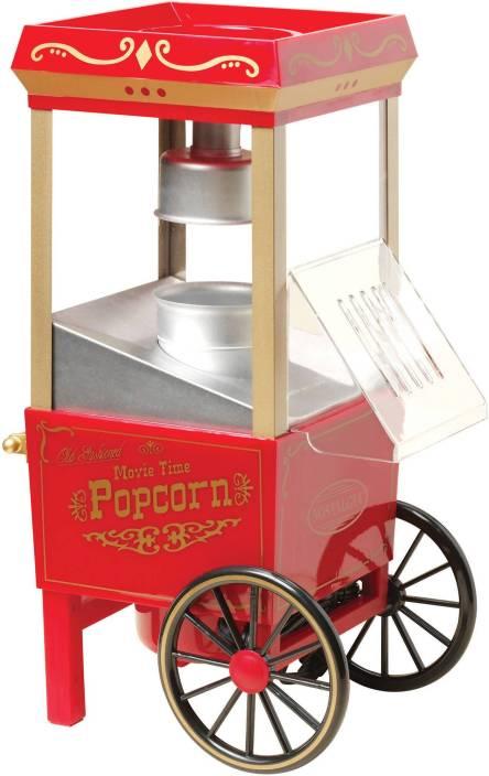 Maxed Hot Air Popcorn Maker Healthy Snack Maker 70 g Popcorn Maker