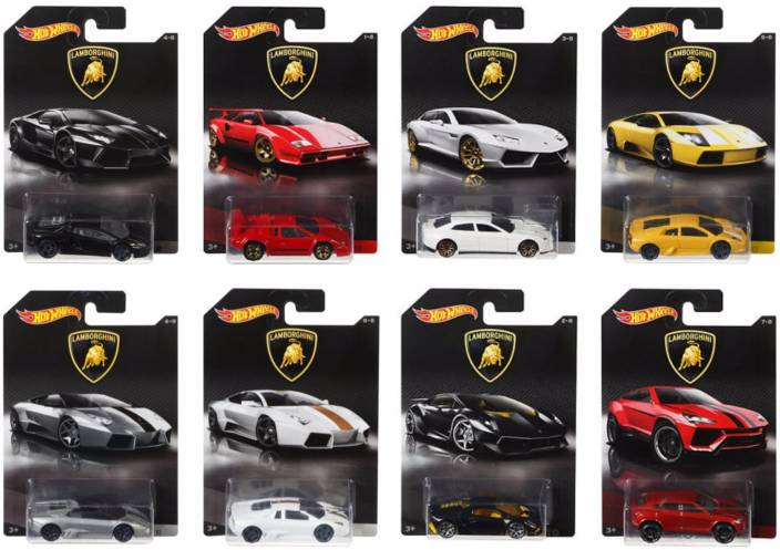 hot wheels lamborghini models: collcetion of 8 - lamborghini models