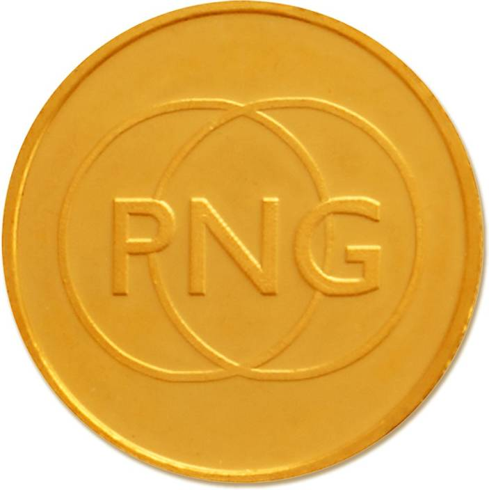 P.N.Gadgil Jewellers PNG 24 (995) K 10 g Gold Coin