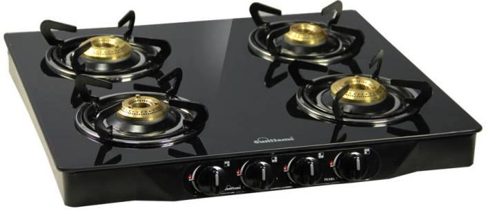 Sunflame Pearl 4 Burner Gltop Stainless Steel Glmanual Gas Stove 4 Burners
