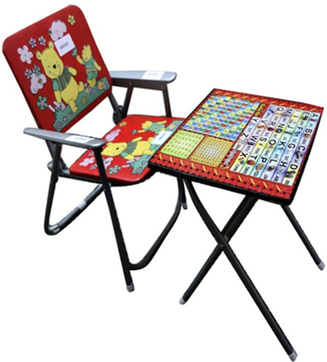Abasr Kids Study Table And Chair Solid Wood Desk In
