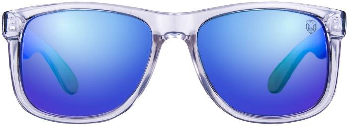 2b199deacf Buy TOM MARTIN Wayfarer Sunglasses Blue For Men   Women Online ...
