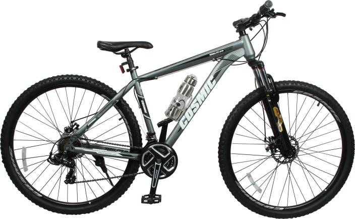 COSMIC TRIUM 27.5 INCH MTB BICYCLE 21 SPEED GREY - PREMIUM EDITION 29 T Mountain/Hardtail Cycle