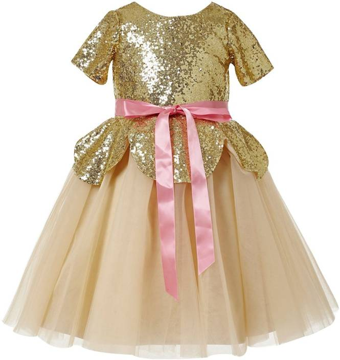 348e83e3a6 Fairy Dolls Girls Maxi/Full Length Party Dress Price in India - Buy ...
